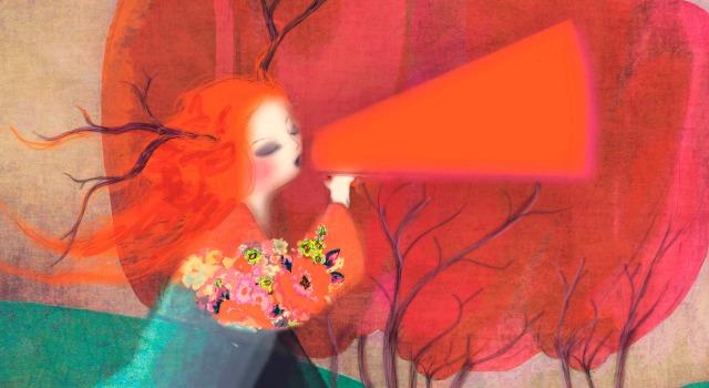 Oiza#4 du mois d'Avril/mai 2014, magazine culturel sur l'Oise (c) illustration Sophie Lebot
