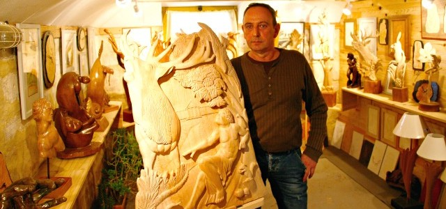 Portrait : Gilles Votte, le retour du bois