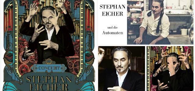 Stephan Eicher en concert avec…des automates à la Faïencerie