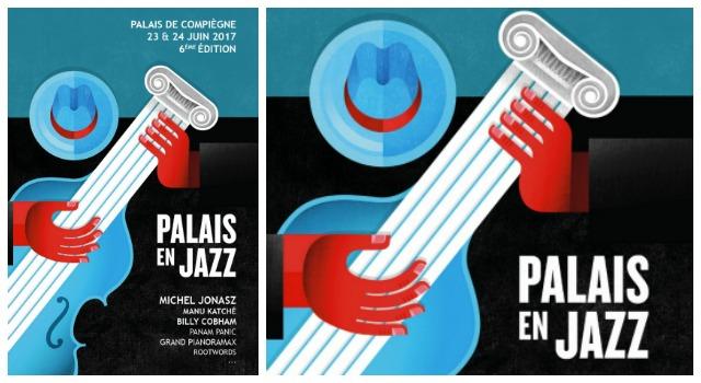 Palais en Jazz 2017 avec Michel Jonasz, Manu Katché et Bille Cobham