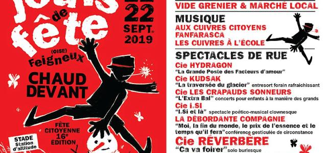 Faites 2 «Jours de fête» à Feigneux