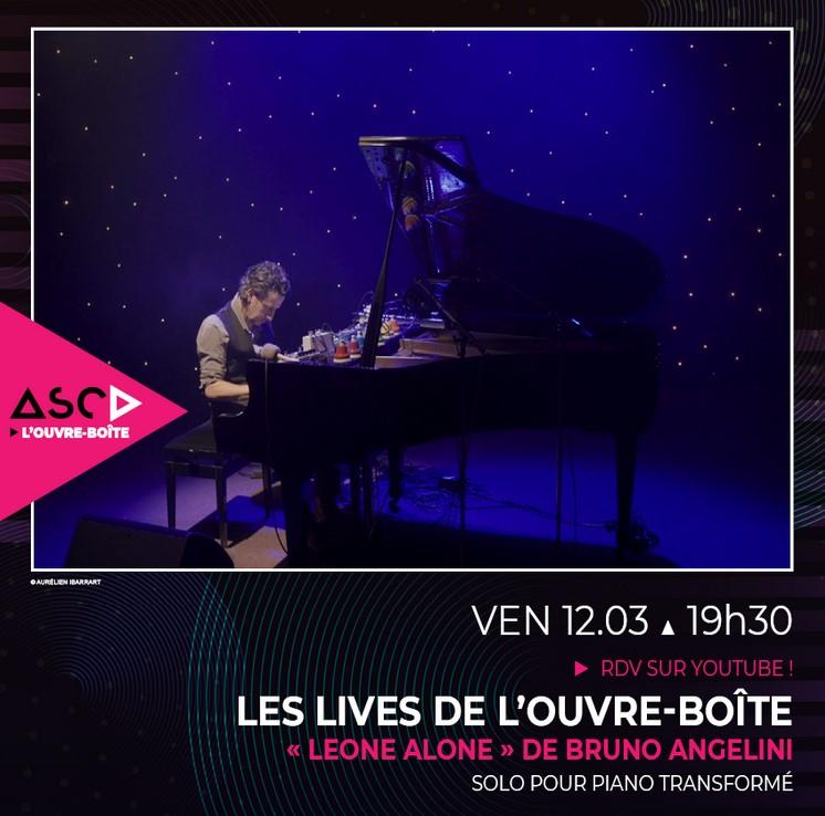 Concerts en live sur Youtubeà l'Ouvre-boite de Beauvais vendredi 12 mars, vendredi 19 mars et vendredi 26 mars 2021